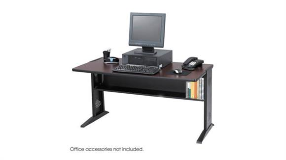 "Computer Tables Safco Office Furniture 48""W Reversible Top Computer Desk"