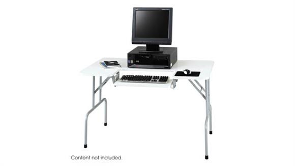 Computer Tables Safco Office Furniture Folding Computer Table