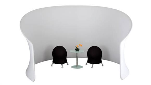 Privacy Screens Safco Office Furniture Adapt™ Configurable Space Divider, Privacy Cove Kit