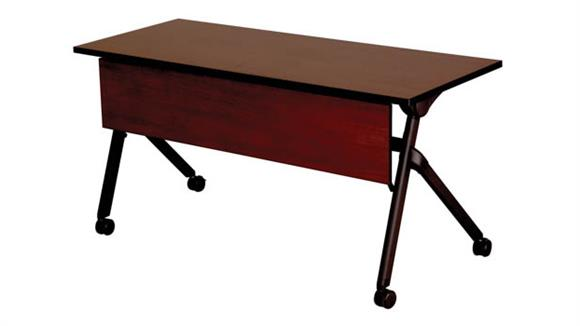 "Folding Tables Safco Office Furniture 72"" x 24"" Nesting Table"