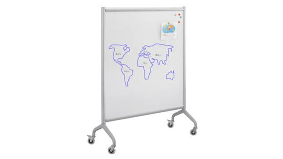 "White Boards & Marker Boards Safco Office Furniture Screen Whiteboard 42"" x 54"""