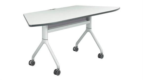 "Training Tables Safco Office Furniture 72"" x 30"" Trapezoid Table"