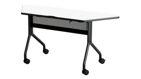 "Training Tables Safco Office Furniture 60"" x 24"" Trapezoid Table"