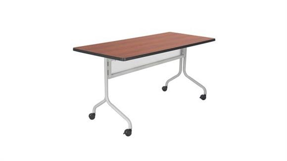 "Training Tables Safco Office Furniture 60"" x 24"" Mobile Training Table"