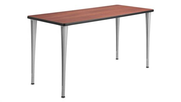 "Training Tables Safco Office Furniture 60"" x 24"" Mobile Table with Glides"