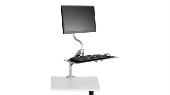 Desk Accessories Safco Office Furniture Desktop Sit/Stand Workstation