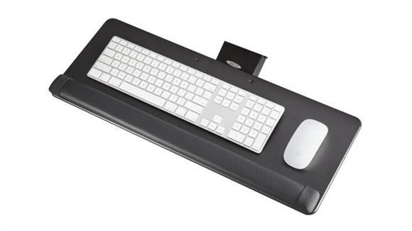 Keyboard Trays Safco Office Furniture Knob-Adjust Keyboard Platform