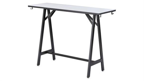 "Standing Height Desks Safco Office Furniture 60""W Standing-Height Teaming Table"