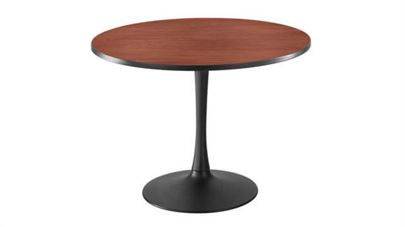 "Cafeteria Tables Safco Office Furniture 42"" Round, Trumpet Base Sitting Height"