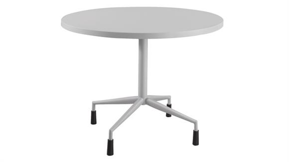 """Cafeteria Tables Safco Office Furniture RSVP™ 30"""" Round Table with Fixed Base"""