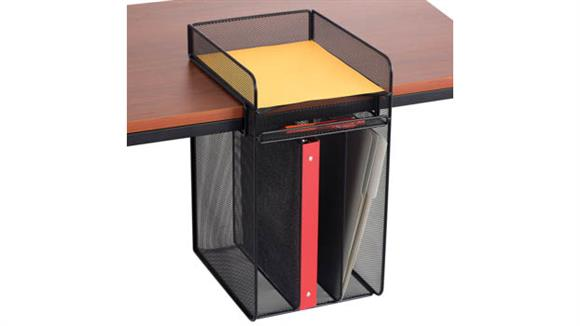 Desk Organizers Safco Office Furniture Onyx™ Vertical Hanging Storage
