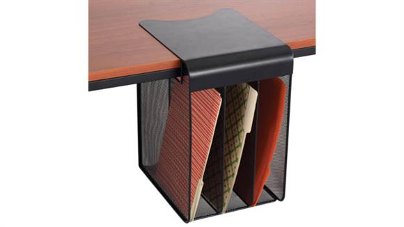 Desk Organizers Safco Office Furniture Onyx™ Solid Top Vertical Hanging Storage