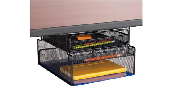 Desk Organizers Safco Office Furniture Onyx™ Mountable Hanging Storage
