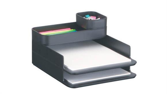 Desk Organizers Safco Office Furniture Stacking Plastic Desktop Sorter Set