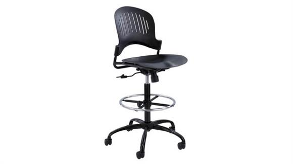 Drafting Stools Safco Office Furniture Zippi™ Plastic Extended-Height Chair