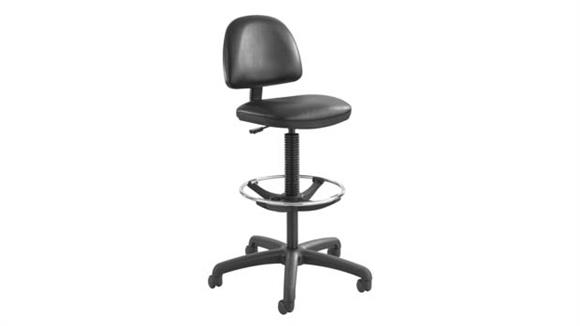 Drafting Stools Safco Office Furniture Precision Vinyl Extended-Height Chair with Footring