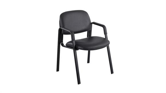 Side & Guest Chairs Safco Office Furniture Cava Straight Leg Vinyl Guest Chair