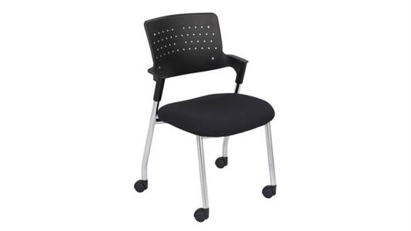 Side & Guest Chairs Safco Office Furniture Spry™ Guest Chair Black (Qty. 2)