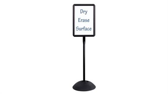 White Boards & Marker Boards Safco Office Furniture Write Way® Rectangle Sign