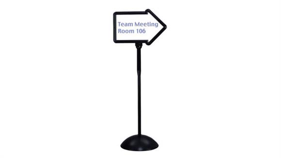 Magazine & Literature Storage Safco Office Furniture Write Way® Directional Sign