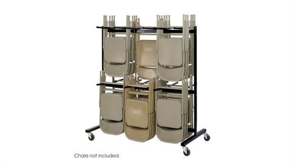 Chair Accessories Safco Office Furniture Two-Tier Chair Cart