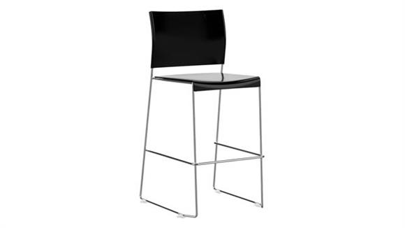 Stacking Chairs Safco Office Furniture Bistro Height Stacking Chair (Qty 2)