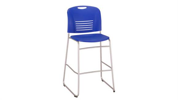 Bar Stools Safco Office Furniture Vy™ Bistro-Height, Sled Base Chair