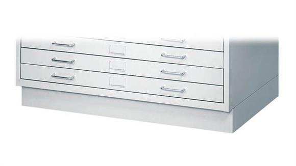 Flat File Cabinets Safco Office Furniture Facil Flat File Closed Base-Small