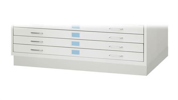 Flat File Cabinets Safco Office Furniture Facil Flat File Closed Base-Medium