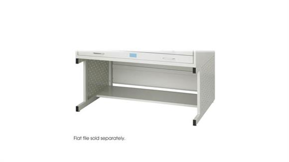 Flat File Cabinets Safco Office Furniture Facil Flat File High Base-Medium