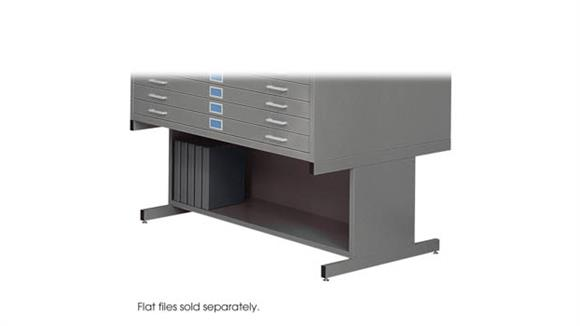 Flat File Cabinets Safco Office Furniture High Base Flat File