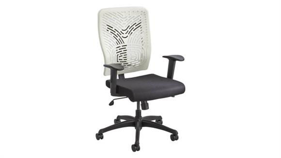 Office Chairs Safco Office Furniture Voice™ Series Task Chair Plastic Back