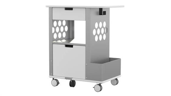 Utility Carts Safco Office Furniture Focal™ Rolling Storage Cart