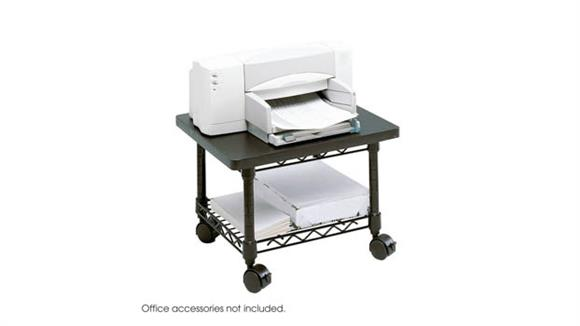 Printer Tables Safco Office Furniture Under-Desk Printer/Fax Stand