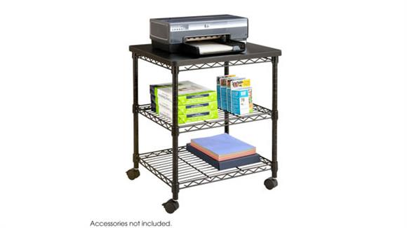 Utility Carts Safco Office Furniture Deskside Wire Machine Stand