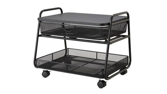 Utility Carts Safco Office Furniture Onyx™ Under-Desk Machine Stand