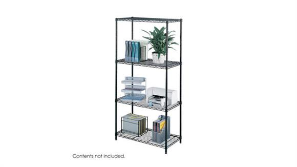 """Shelving Safco Office Furniture Industrial Wire Shelving, 36"""" x 18"""""""