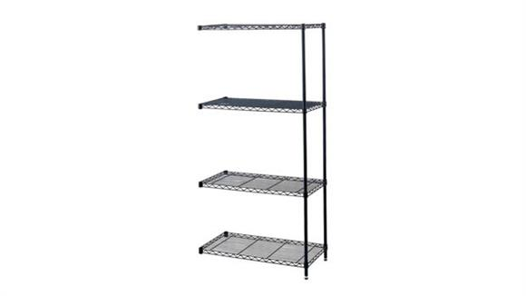 """Shelving Safco Office Furniture Industrial Add-On Unit, 48"""" x 18"""""""