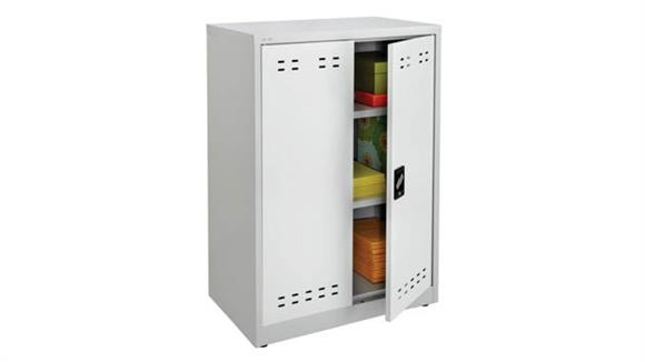 "Storage Cabinets Safco Office Furniture 42""H Steel Storage Cabinet"