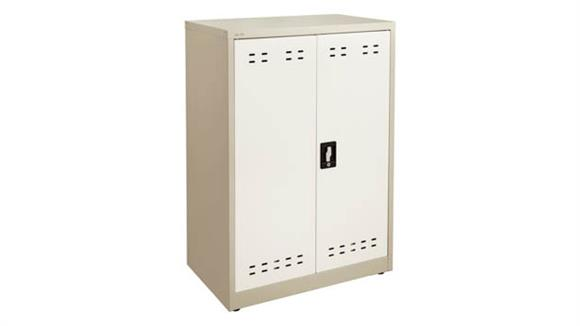 "Storage Cabinets Safco Office Furniture 42""H Steel Storage Cabinet"