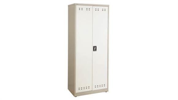 "Storage Cabinets Safco Office Furniture 72""H Steel Storage Cabinet"
