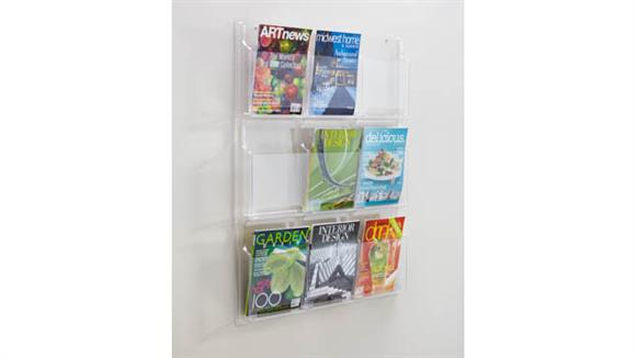 Magazine & Literature Storage Safco Office Furniture 9 Magazine Display