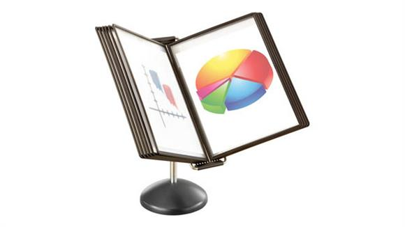 Desk Organizers Safco Office Furniture Desktop Reference System