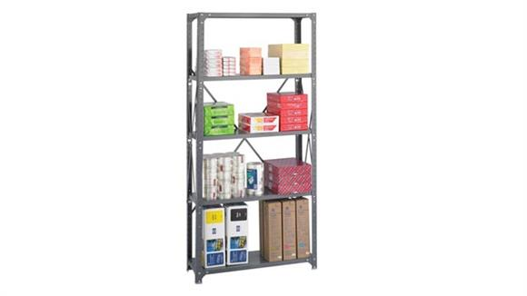 "Shelving Safco Office Furniture 36""W x 12""D x 75""H Commercial 5 Shelf Unit"