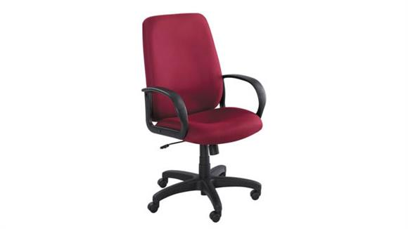 Office Chairs Safco Office Furniture Poise® Executive High Back Chair