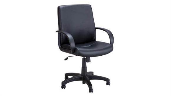 Office Chairs Safco Office Furniture Poise® Executive Mid Back Chair