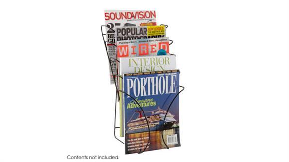 Magazine & Literature Storage Safco Office Furniture Wire Counter Display 5 Pocket
