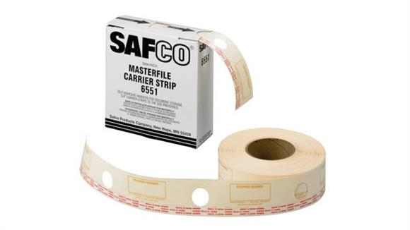 Office Organizers Safco Office Furniture Film Laminate Carrier Strips for MasterFile 2