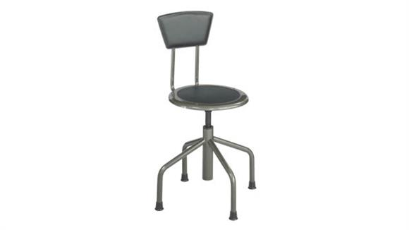 Drafting Stools Safco Office Furniture Diesel Low Base Stool with Back