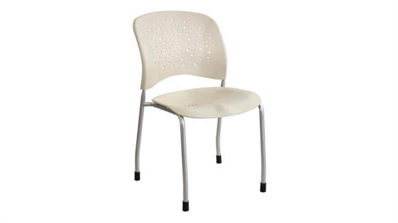Stacking Chairs Safco Office Furniture Guest Chair Straight Leg Round Back (Qty. 2)